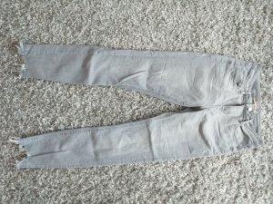 Primark 7/8 Length Jeans light grey-grey