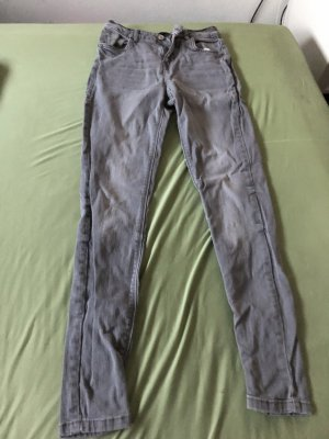 H&M Low Rise Jeans multicolored cotton