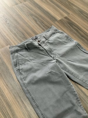 Abercrombie & Fitch 7/8 Length Jeans dark grey cotton