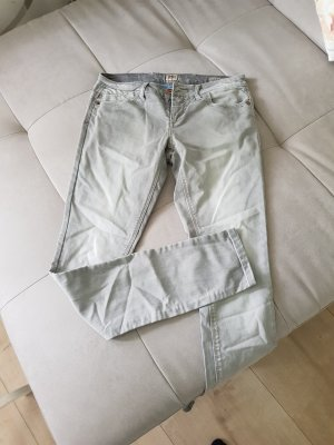graue Jeans Gr. 29/34 Skinny low