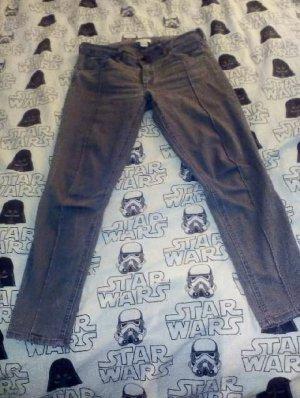 Graue Jeans Highwaist 40