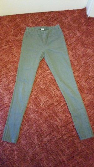 Graue Jeans mit Gummibund