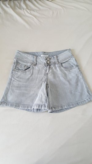 graue Jeans Short / Hotpants