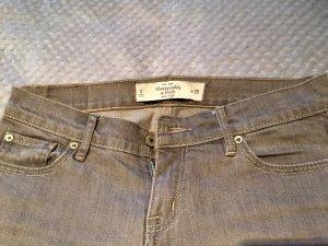 Graue Jeans von Abercrombie & Fitch