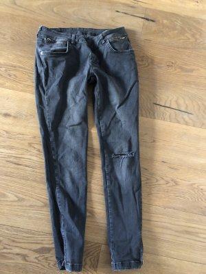 Anine Bing Skinny Jeans anthracite-dark grey