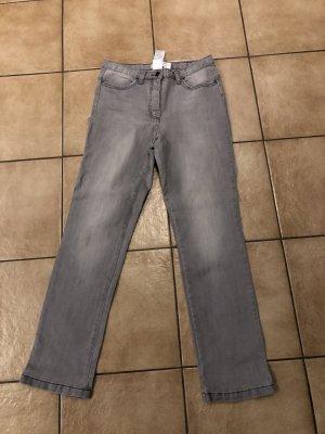 Collection L Jeans met rechte pijpen grijs-lichtgrijs