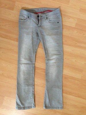 Graue Jeans von Cross Größe 34