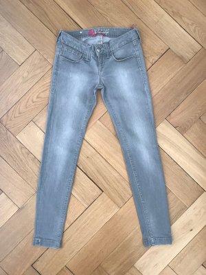Graue Jeans von Fornarina, Größe 28