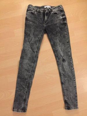 Mango Jeans stretch gris foncé