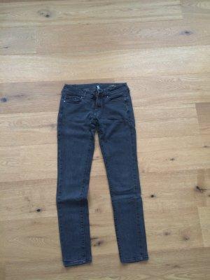 Graue Jeans von Mango Größe 38