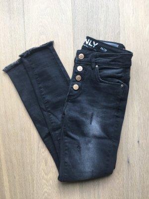 Graue Jeans von Only