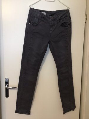 Street One Tube Jeans grey