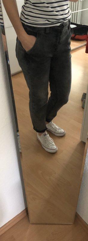 Street One Boyfriend Jeans grey