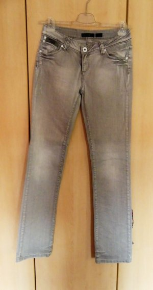 Only Stretch jeans zilver