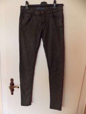 Graue Jeanshose (super skinny)