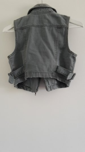 graue Jeansweste ungetragen - Vero Moda