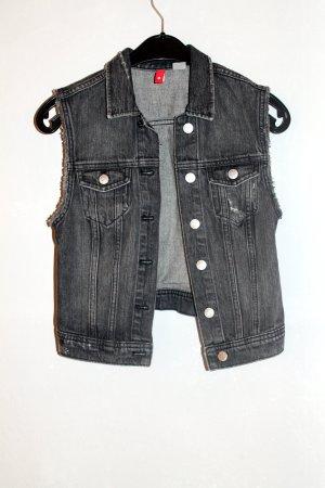 graue Jeansweste von H&M