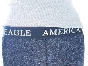 American Eagle Outfitters Pantalone da ginnastica grigio scuro