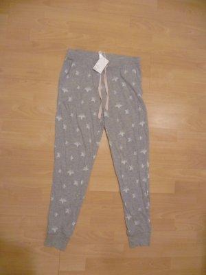 Graue Jogginghose mit Sternenmuster von H&M, neu mit Etikett!, Pyjama