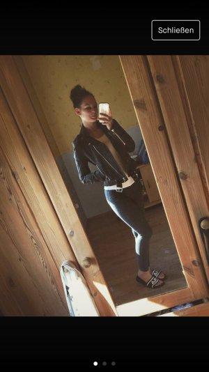 Topshop High Waist Jeans grey