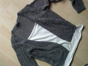 graue Kurzstrickjacke von Vero moda in Größe M
