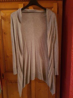 H&M Giacca lunga grigio chiaro