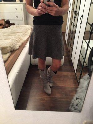 Graue Leder Stiefel Größe 38 aus Amsterdam