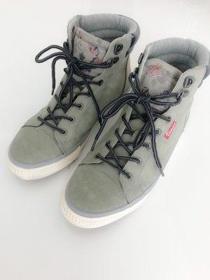 Graue Ledersneaker von Venice Gr. 40