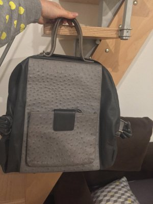 Carry Bag silver-colored-grey
