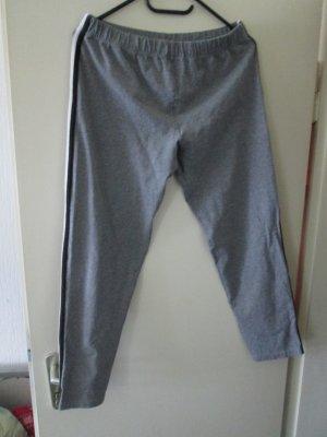 graue Leggings Größe 42 / 44