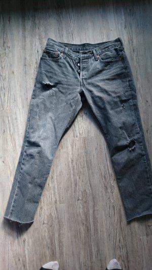 graue levi's Jeans 501