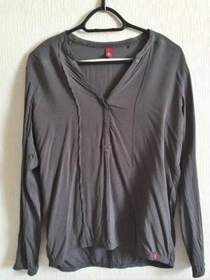 graue, lockere Bluse von EDC