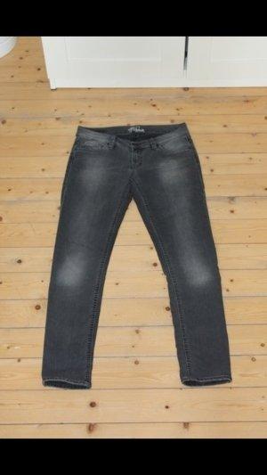 Graue Mavi Jeans Modell 'Lindy' 28/32