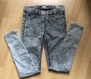 Pull & Bear Jegging gris clair