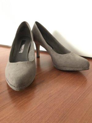 Tamaris High Heels grey suede