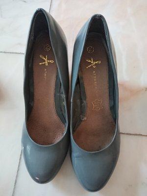 Atmosphere Zapatos de cuña gris
