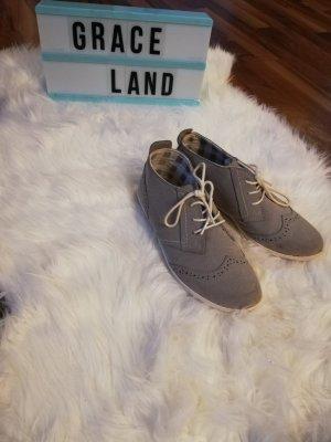 Graceland Zapatos Budapest gris claro