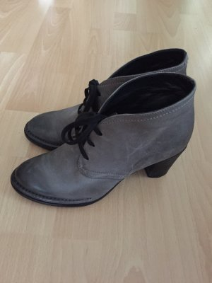 Alberto Fermani Low boot gris-gris anthracite