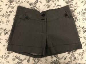 Korte broek grijs-zwart