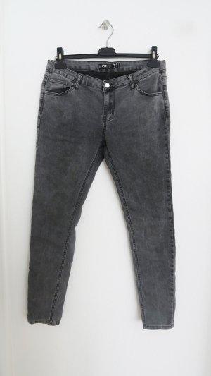 Graue Skinny Jeans Größe 31
