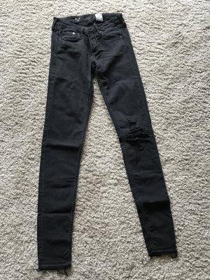 Graue skinny Jeans von H&M