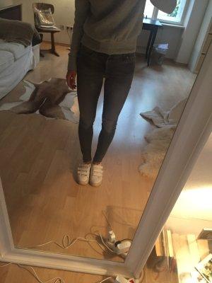 Graue skinny Jeans von Seven