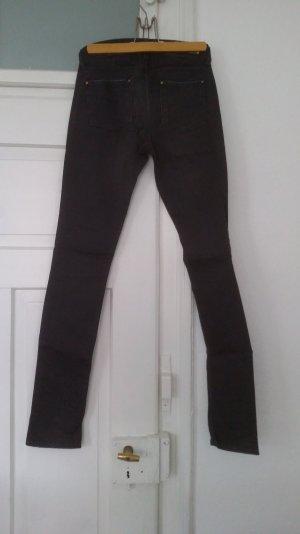 graue Skinny Jeans Zara