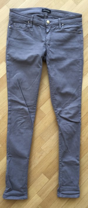 Massimo Dutti Drainpipe Trousers dark grey