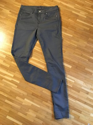 graue Slimfit Hose von SELECTION by s.Oliver