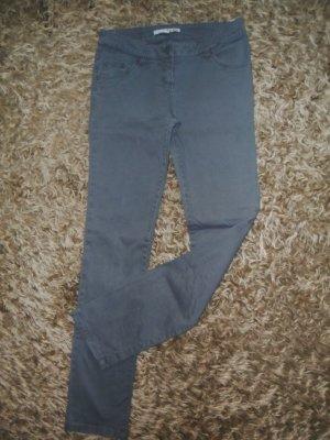 graue Slimfit Jeans, Tally Weijl, Größe 36