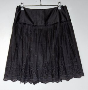 Promod Lace Skirt grey no material specification existing