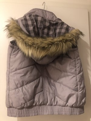 Primark Quilted Gilet grey-silver-colored