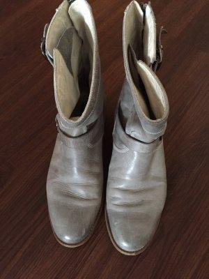 Belstaff Bottines gris-gris clair