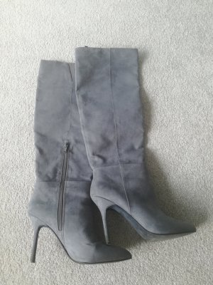 H&M High Heel Boots silver-colored